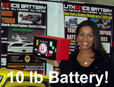 10 pound lithium-ion battery