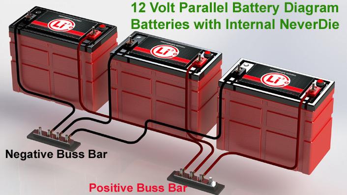 12 Volt 195a  Marine Deep Cycle House Power Battery